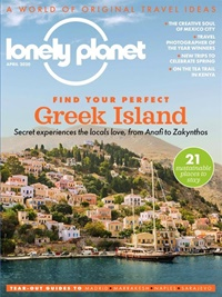 Lonely Planet Traveller forside