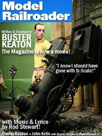 Model Railroader Magazine forside
