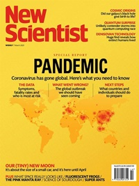 New Scientist (Print & digital) forside