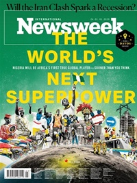 Newsweek International forside