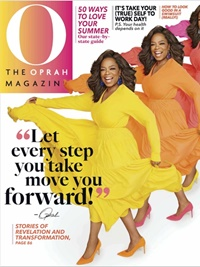 O, The Oprah Magazine omslag