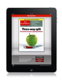 The Economist Digital only omslag
