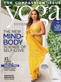 Yoga Journal forside