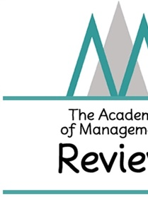 Academy Of Management Review (corporate) forside