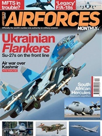 Airforces Monthly forside