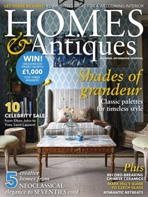 BBC Homes & Antiques forside