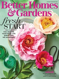 Better Homes And Gardens forside