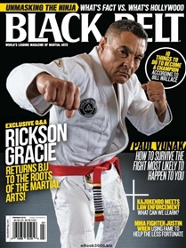 Black Belt Magazine forside