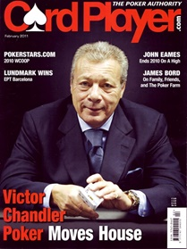 Card Player Magazine forside