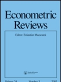 Econometric Reviews forside