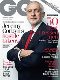 GQ (UK Edition) forside
