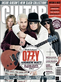 Guitar World forside