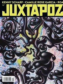 Juxtapoz Art & Culture Magazine forside