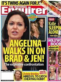 National Enquirer forside