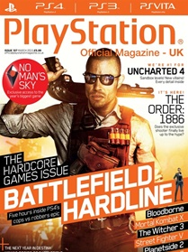 Playstation Official Magazine (UK Edition) forside
