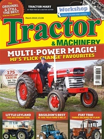 Tractor & Machinery forside