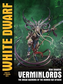 White Dwarf Monthly forside