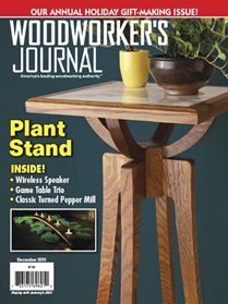 Woodworkers Journal forside
